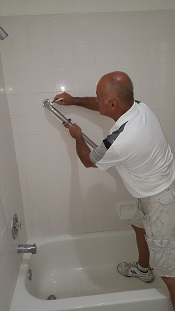 At Ideal Grab Bars In Atlantis, We Combine Friendly Service With  Professional Quality. Our Moen Shower Safety Bars Are Installed With  Careful Attention To ...